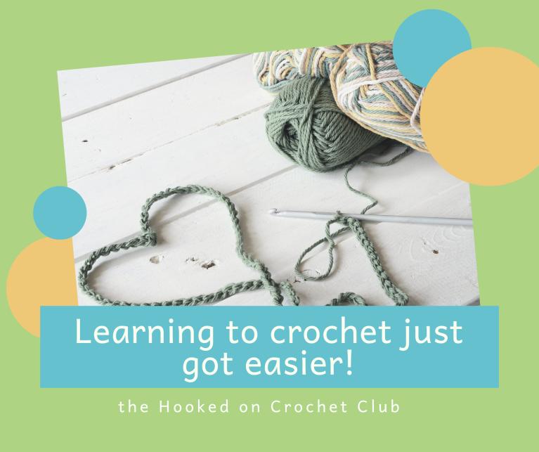 Learning to crochet just got easier!